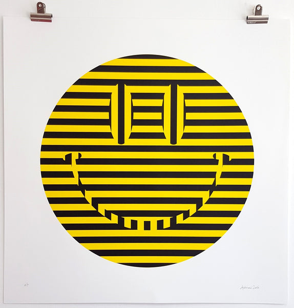 Carl Cashman - Acid Reflux - Signed Hacienda Yellow Edition