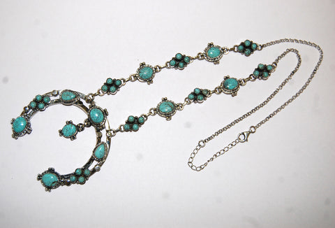 Lucky Sparkle | Sterling Silver Necklace With Turquoise - Native Marvels