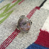 Explorer | Sterling Silver Ring With Charoite - Native Marvels