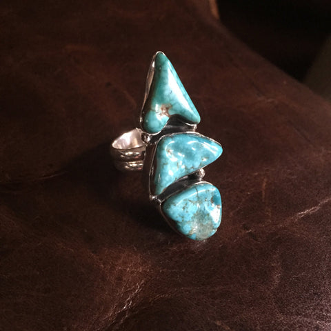 Formation | Sterling Silver Ring With Turquoise - Native Marvels