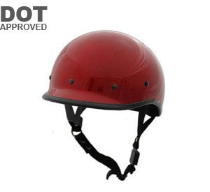 DOT Wine Polo Motorcycle Helmet EXWINE - Proven Power Sports