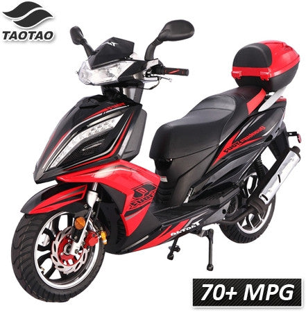 Quantum-150 TaoTao Adult 150cc Gas Moped Scooter - Proven Power Sports
