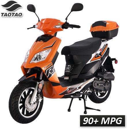 Thunder-50 TaoTao Adult 50cc Gas Moped Scooter - Proven Power Sports