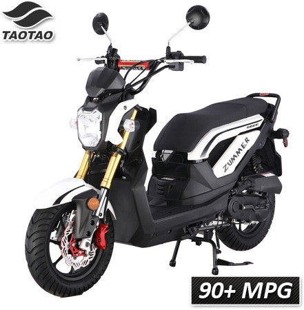 Zummer-50 TaoTao Adult 50cc Gas Moped  Scooter - Proven Power Sports