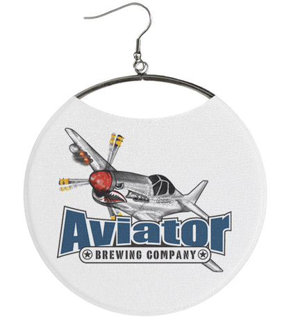 Aviator Brewing Company Plane White
