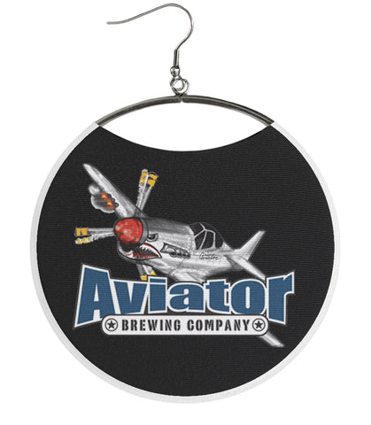 Aviator Brewing Company Plane Black