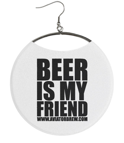Aviator Brewing Company BEER IS MY FRIEND White