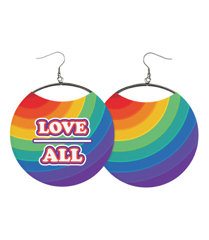 Love Above All, Rainbow Earrings