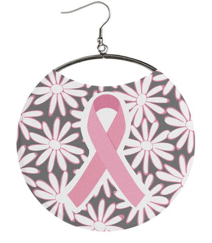 Pink Cause Ribbon Grey