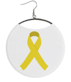 Yellow Cause Ribbon