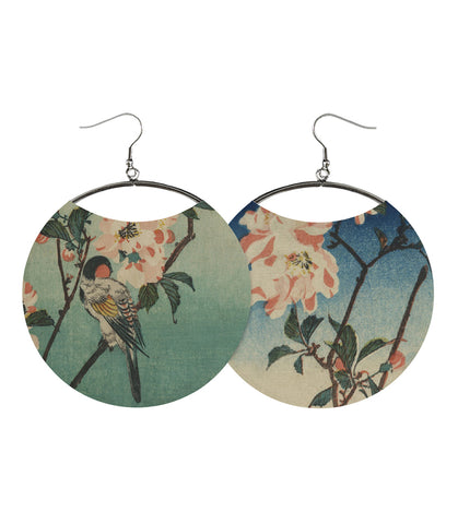 Bird and Branch Earrings