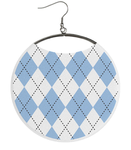 Argyle Light Blue