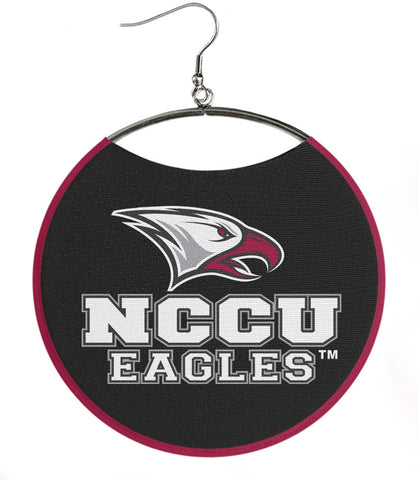 NCCU Eagles on Black & Maroon