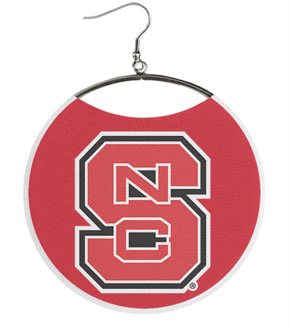 NCSU Logo on Red