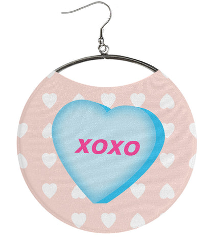XOXO, Kiss Valentine's Day Earrings