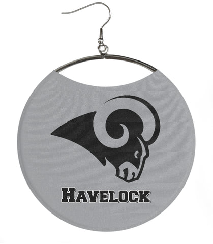 Havelock High School Havelock Ram black