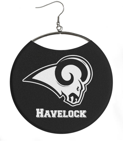Havelock High School Havelock Ram white