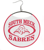 Southern Mecklenburg High School Sabres White