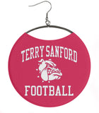 Terry Sanford High School Football Red
