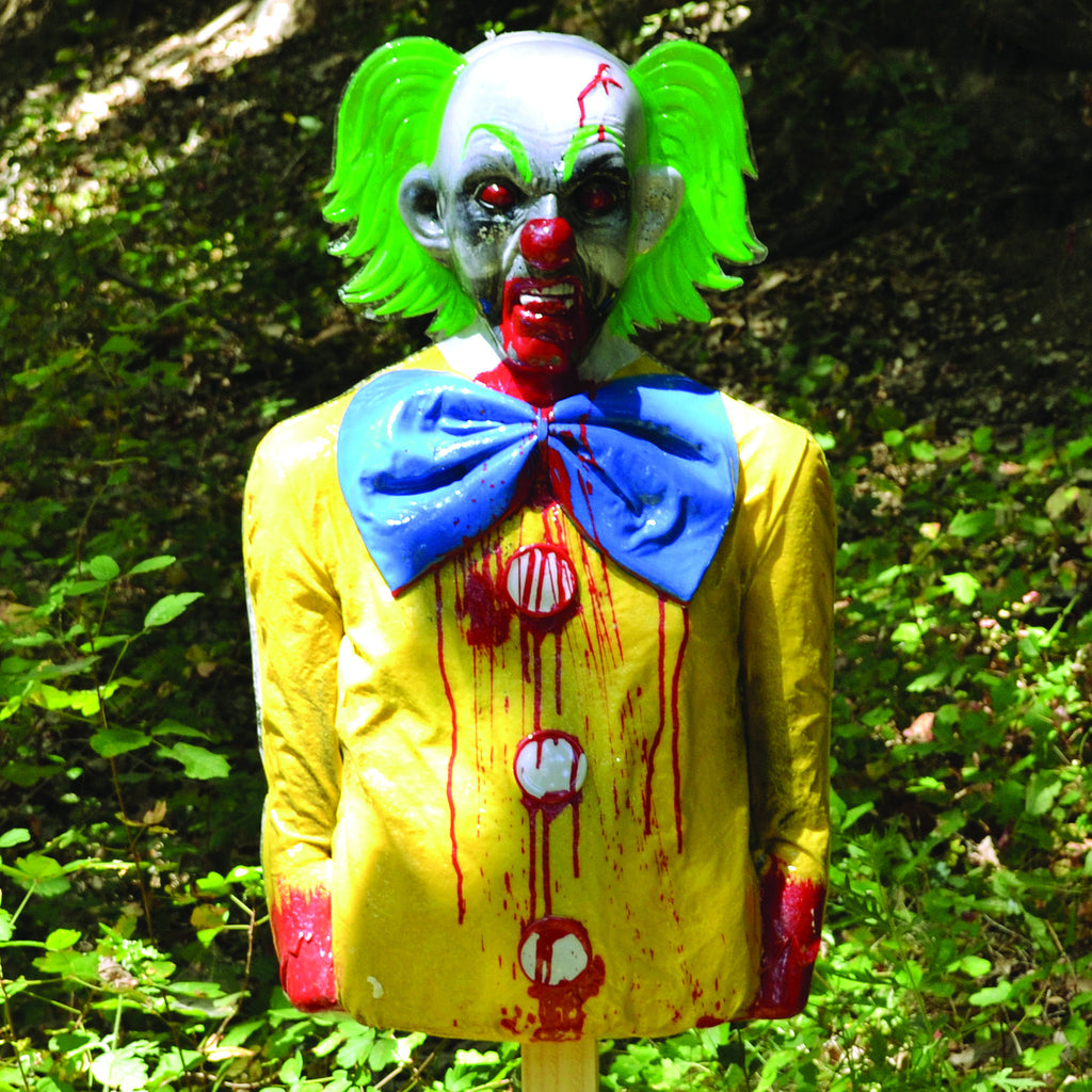 Bobo... Happy Clown To Bleeding Zombie Target