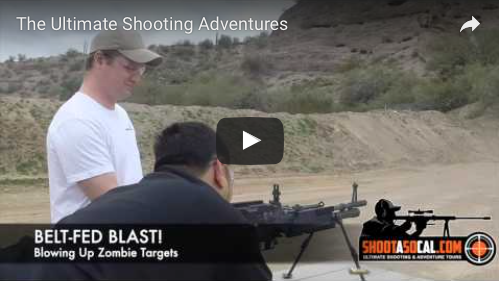 Ultimate Shooting Adventure in Las Vegas