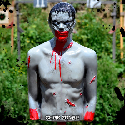 """Chris""... The Original Bleeding Zombie Target"