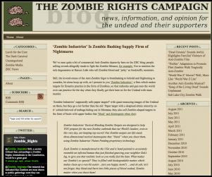 "Zombie Industries' is a ""Zombie Bashing Supply Firm of Nightmares..."" Really???"