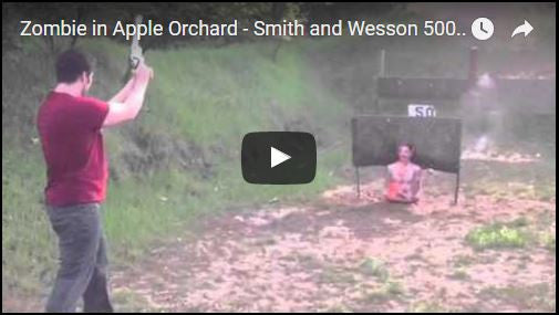 Zombie in Apple Orchard