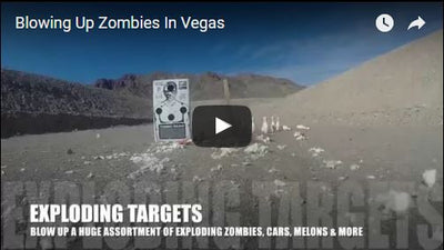 Blowing Up Zombies in Vegas & Arizona