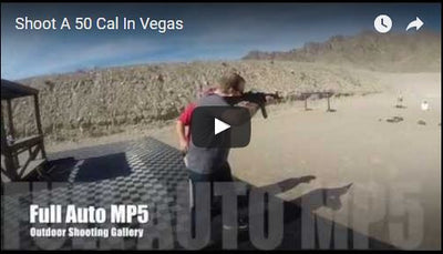 Full Auto MP5 and 50 cal vs Zombie in Vegas