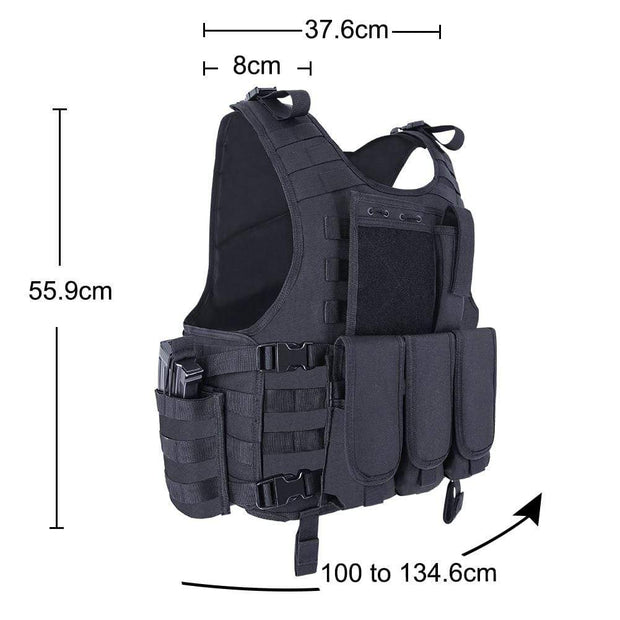 Zombie Industries Accessories - Lightweight Tactical Vest
