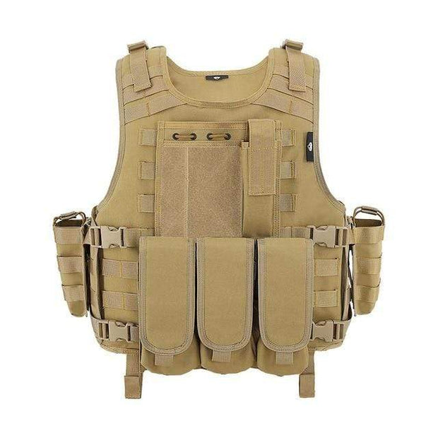Zombie Industries Accessories - Tan Lightweight Tactical Vest