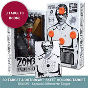 Zombie Industries Bleeding Targets - 3D Interactive Shooting Targets #style_nazi-nemesis