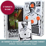 Zombie Industries Bleeding Targets - 3D Interactive Shooting Targets #style_rocky-ravager