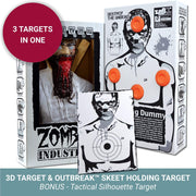 Zombie Industries Bleeding Targets - 3D Interactive Shooting Targets #style_brain-eating-terrorist