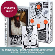 Zombie Industries Reactive Targets - 3D Reactive Shooting Target #style_virus-infested-taliban