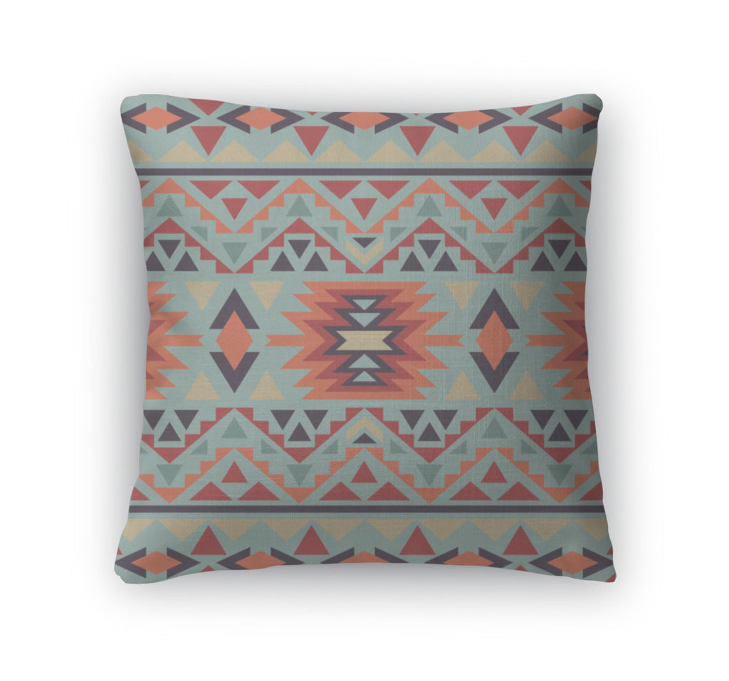 Throw Pillow, Navajo Pattern