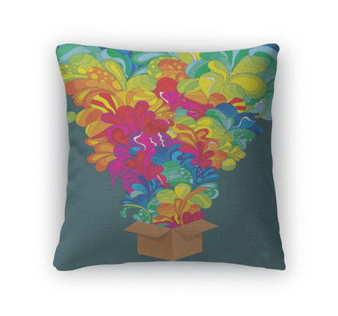 Throw Pillow, Funky Explosion