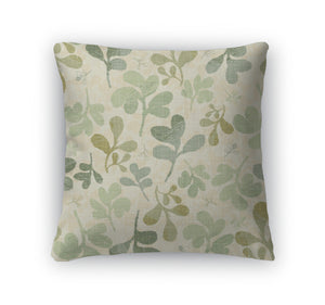 Throw Pillow, Floral Pattern