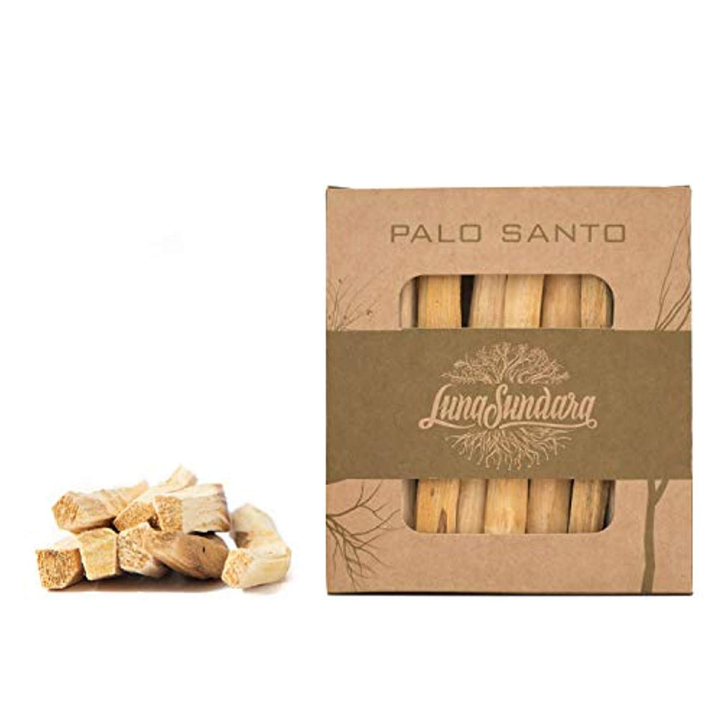 Palo Santo Smudging Sticks High Resin Palo Santo from Ecuador - Fair Trade