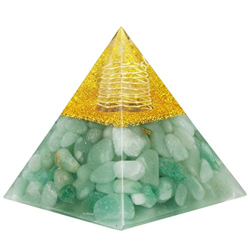 Healing Crystal Rock Quartz Pyramid