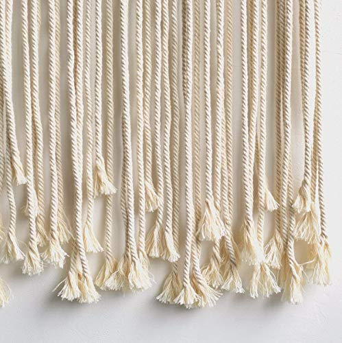 "Macrame Wall Hanging Boho Wedding Cotton Handmade Wall Art Home Wall Decor,37""x 35"""