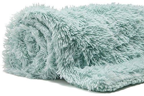 "Super Soft Shaggy Longfur Throw Blanket  |  Microfiber Blanket | 50""x 65"" - Many colors to choose from"