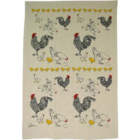 Chickens Kitchen Towels, Set of 2