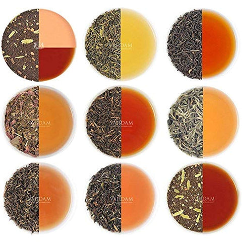 Assorted Loose Leaf Tea Sampler - 10 TEAS, 50 SERVINGS