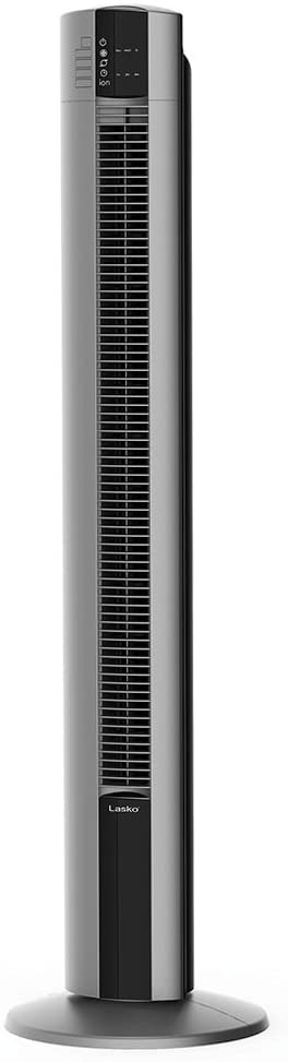 "Lasko  Portable Electric 42"" Oscillating Tower Fan with Fresh Air Ionizer, Timer and Remote Control for Indoor, Bedroom and Home Office Use"
