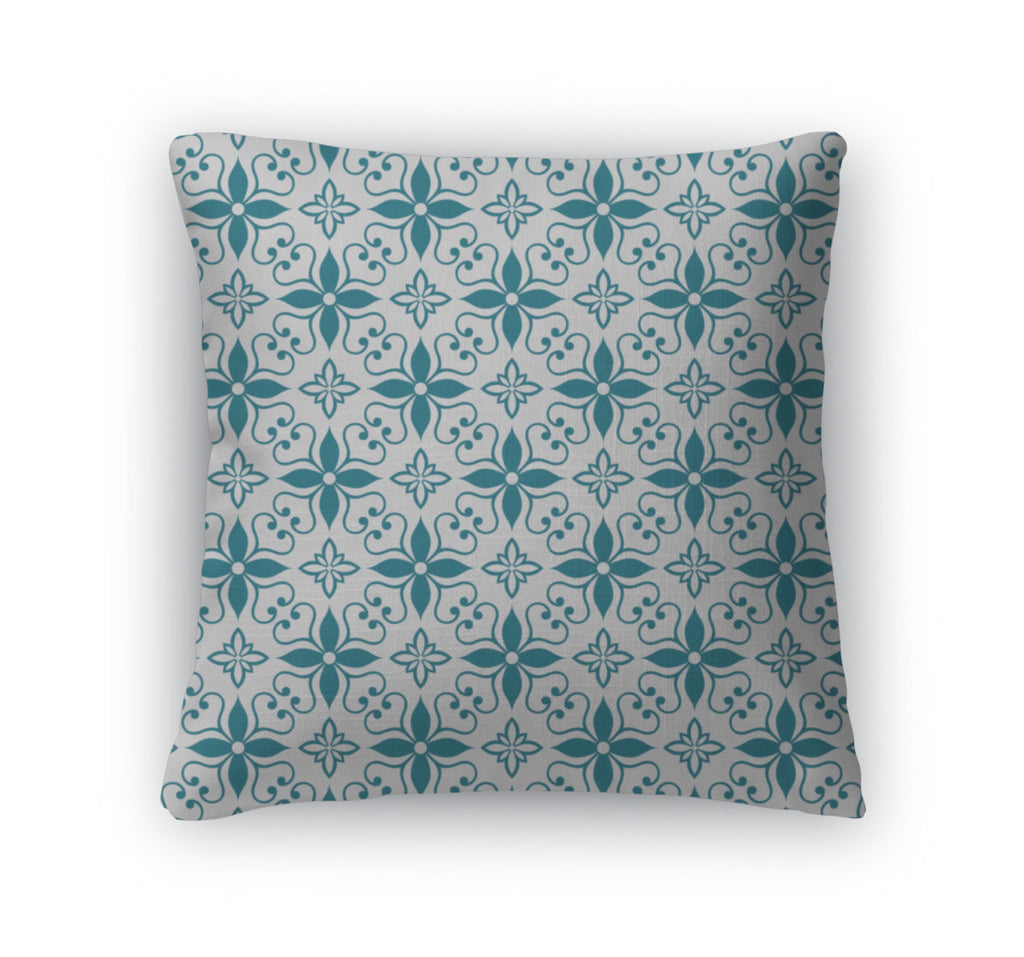 Throw Pillow, Ornamental Pattern