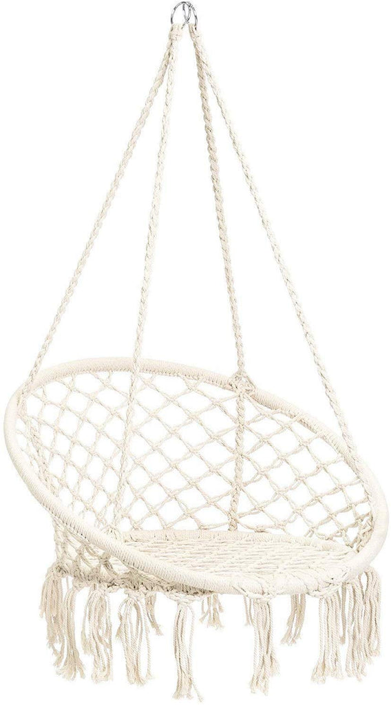 Macrame Hammock Chair for Indoor or Outdoor