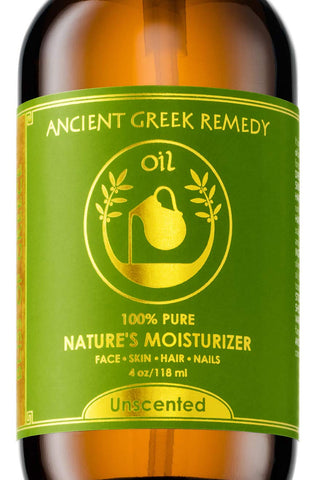 100% Organic Blend of Olive, Lavender, Almond and Grapeseed oils with Vitamin E. Daily Moisturizer for Skin, Hair, Face, Cuticle, Nail, Scalp, Foot. Pure Cold Pressed