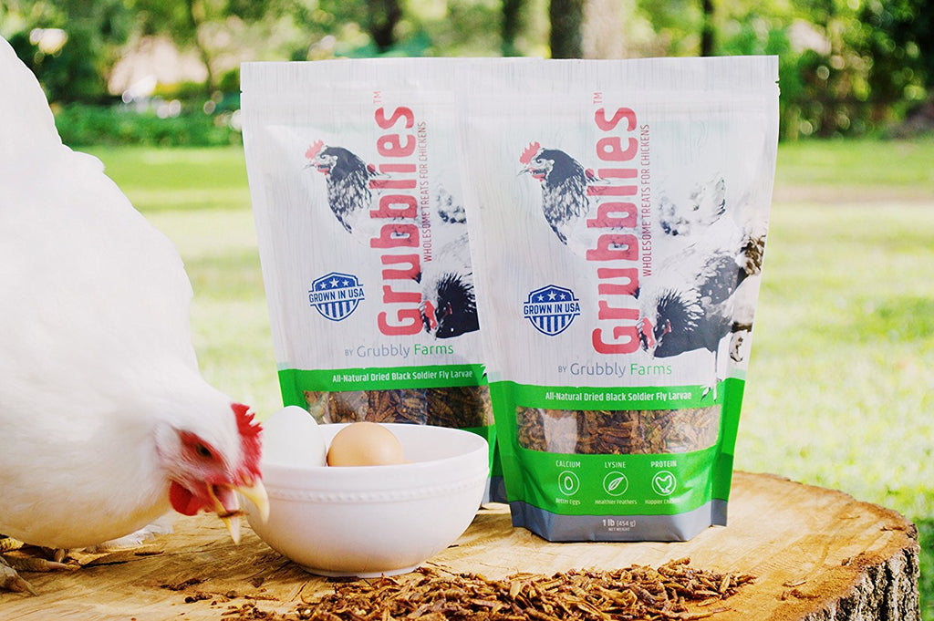 Grubblies - Wholesome USA Grown Treats for Chickens